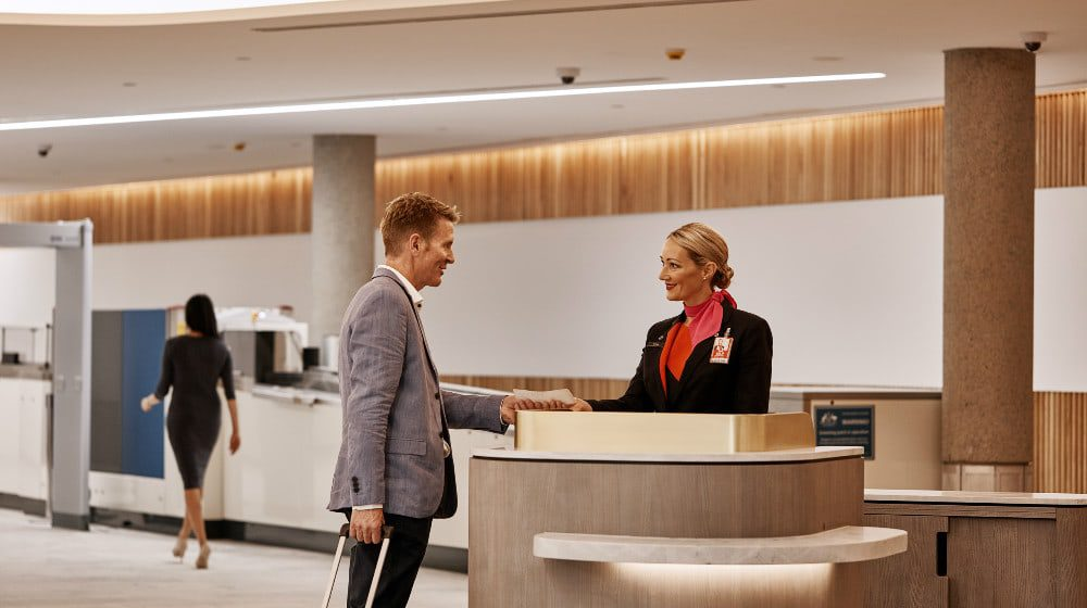 Qantas Brisbane Lounge feature