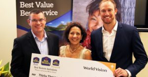 Best Western's mega World Vision donation