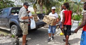 Emergency aid reaches Vanuatu's outer islands