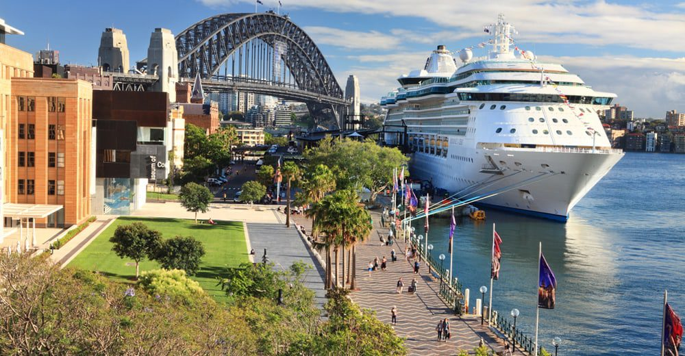 AT CAPACITY: NSW Government Plans Third Sydney Cruise Ship Terminal
