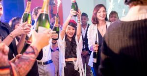 This travel-related company knows how to throw a party