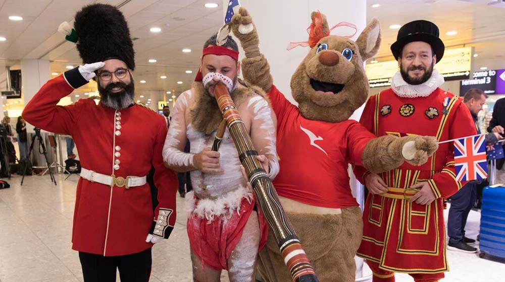 RECORD BREAKING: Qantas flies non-stop from Perth to London in 16.5hrs