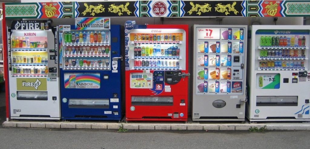 VENDING MACHINES: 8 things you can buy on-the-go in Japan