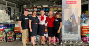 DOG DAYS ARE OVER: Trafalgar's Drought Relief Doggy Donation