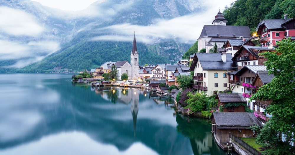 PICTURE PERFECT: The 'Frozen' Fairytale Town Discouraging Tourists