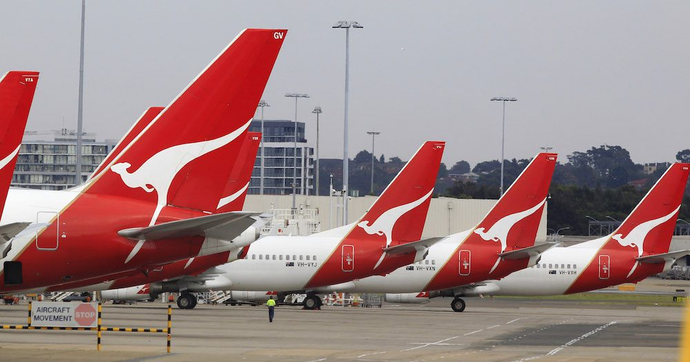 Qantas Aircraft Parking