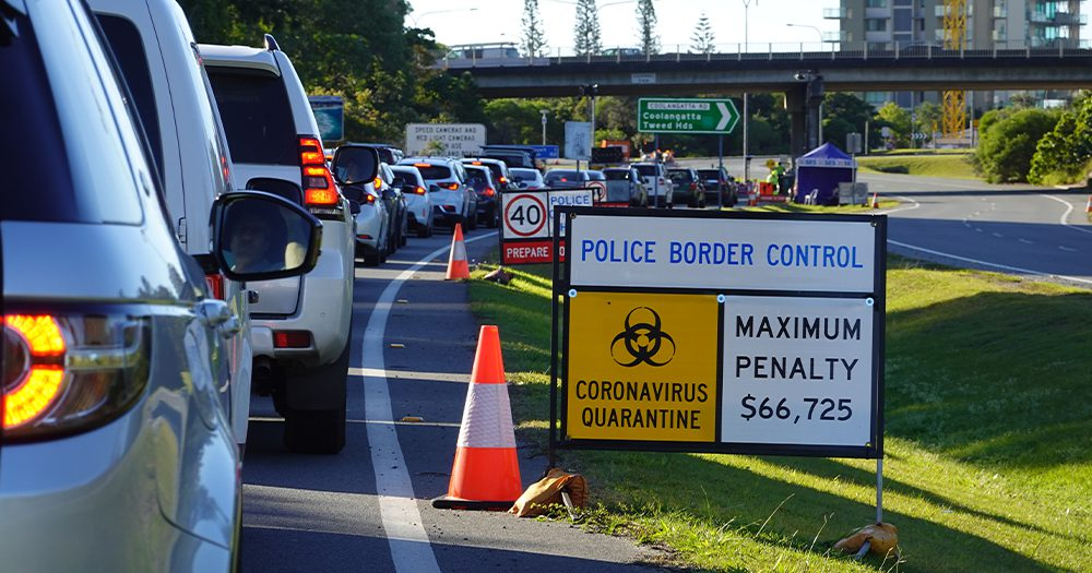 Queensland Border Closing To All NSW & ACT Residents From Saturday