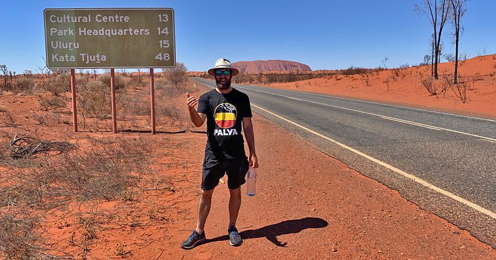 Footsteps For Food: James McAlloon Completes 3460 km Trek Across Australia