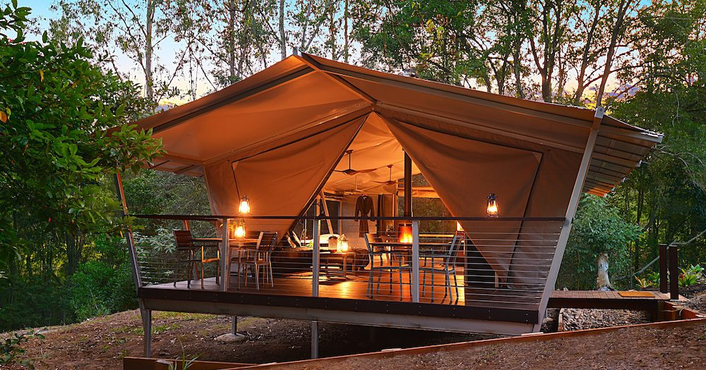 New Starry Nights Luxe Glamping Lights Up The Sunny Coast